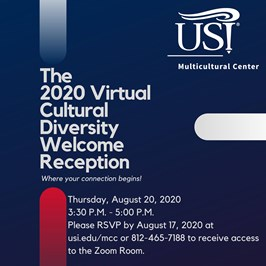 Virtual Cultural Diversity Welcome Reception